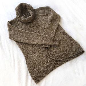 Carolyn Taylor Brown Tan Heathered Sweater
